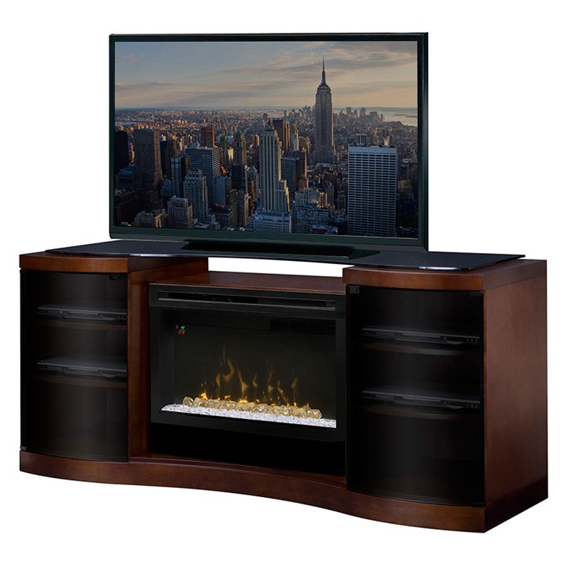 Dimplex Acton Media Console with Electric Fireplace
