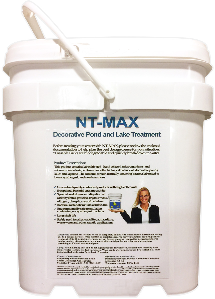 nt max biological water clarifier digester 25 pound pail consumes