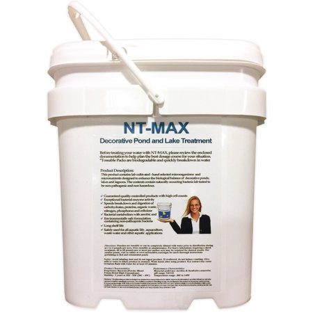 NT-MAX Biological Water Clarifier & Digester 25 Pound Pail Consumes Decaying Algae, Duckweed and All other Organic Matter