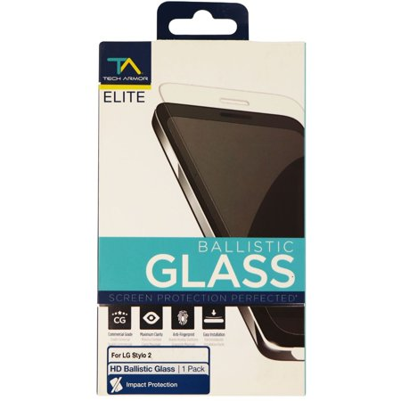 Tech Armor Elite Ballistic Glass Screen Protector For LG Stylo 2