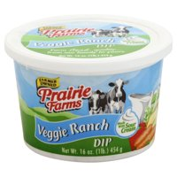 Prairie Farms Veggie Ranch Dip, 16 Oz.