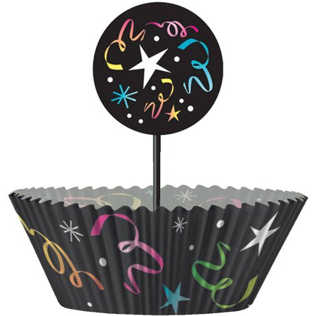 - Happy New Years Eve Cupcake Kit for 24