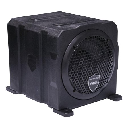 (Wet Sounds Stealth AS-6 250W Active Marine Powered Sealed Subwoofer Enclosure)