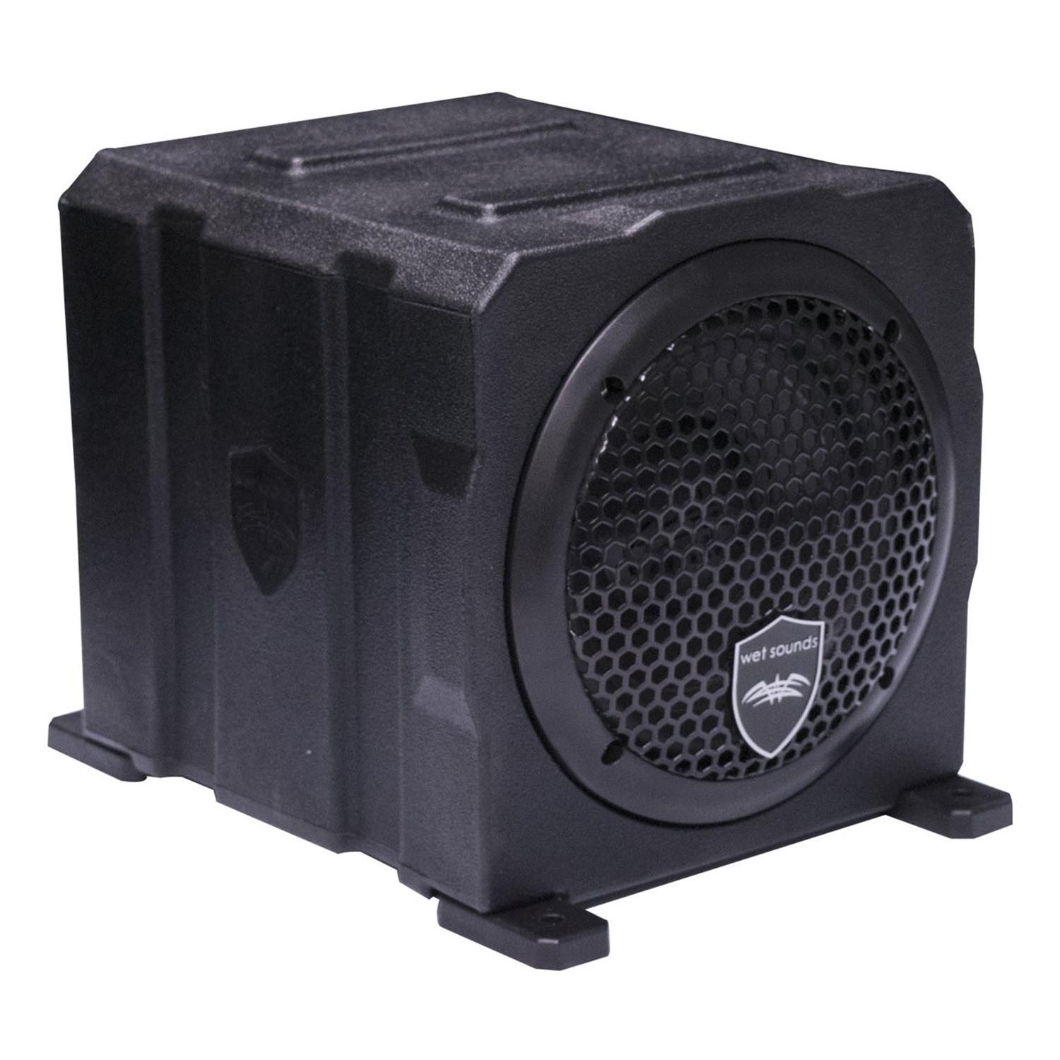 Wet Sounds Stealth AS-6 250W Active Marine Powered Sealed Subwoofer Enclosure