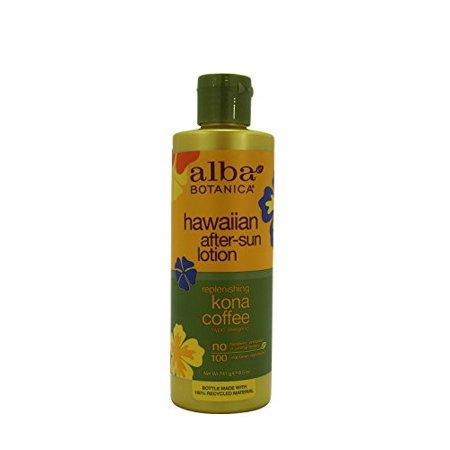 Alba Organics Hawaiian After-Sun Lotion, Kona Coffee, 8.5 Fl Oz
