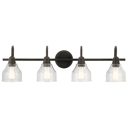 "Kichler 45974 Avery 4 Light 33"" Wide Bathroom Vanity Light"