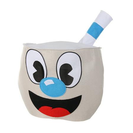 elope Mugman Felt Character Costume Mascot Head](Wreck It Ralph Characters Costumes)