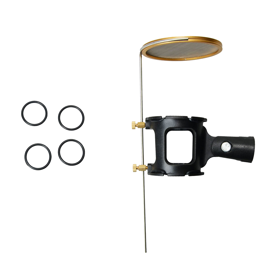 Ktaxon Metal Microphone Shock Mount Stand Holder w  Pop Filter Shockmount by