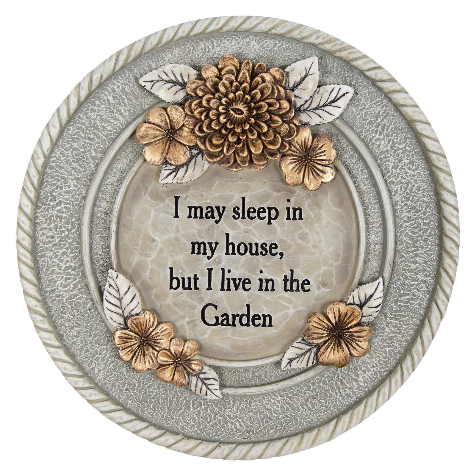 Carson Home Accents Live in Garden Stepping Stone by