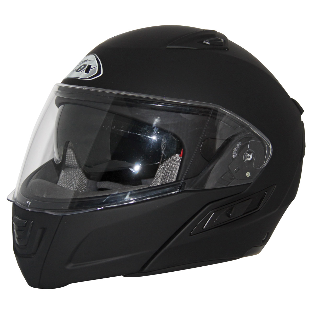 Zox Unisex Adult  Condor SVS Matte Black Modular Helmet Z88-30852