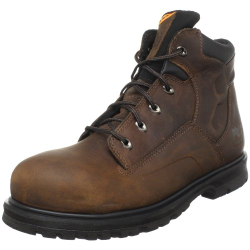 "Timberland PRO Men's Magnus 6"" Safety Toe Work Boot,Brown,12 M US"