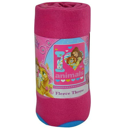 Fleece Throw - Disney - Princess Palace Pets Love Animals 45x60