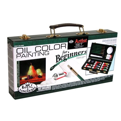 Royal and Langnickel Oil Color Painting Artist Set for Beginners [Oil Painting]