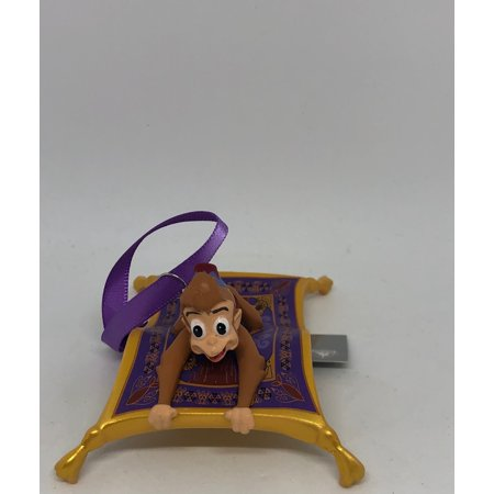 Disney Parks Abu and Magic Carpet from Aladdin Christmas Ornament New With Tags Disneys Aladdin Magic Carpet