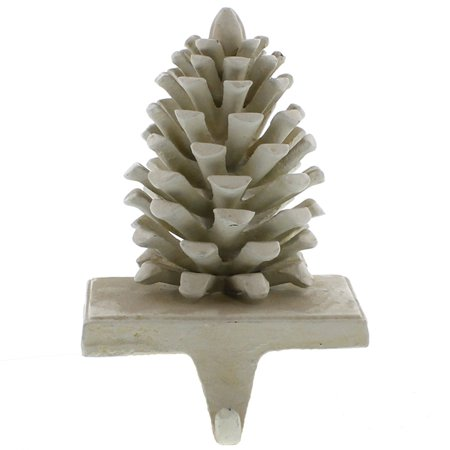 Areo Home Holiday Pinecone Stocking Holder ()