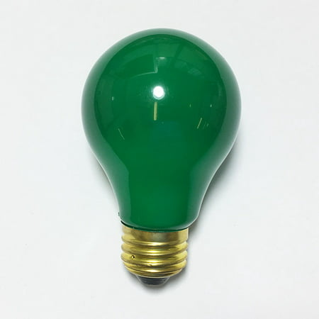 Philips 25w A19 120v Ceramic Green E26 Medium Base Light Bulb