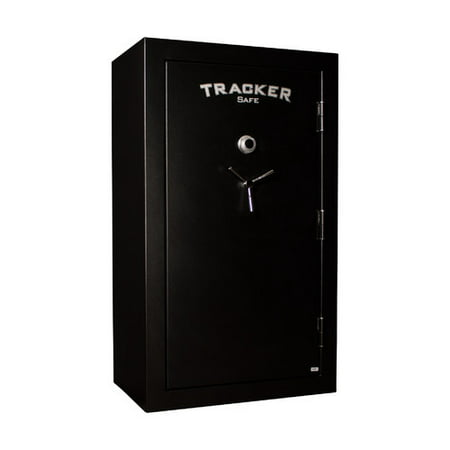 Tracker Safe M45-DLG 45-Gun Fire Resistant Combination/Dial Lock Gun Safe, Black