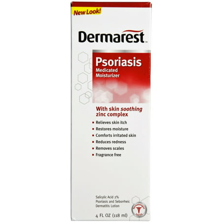 1217495   Dermarest Psoriasis Medicated Moisturizer 4 Oz