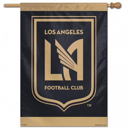 """Los Angeles FC - 28""""x40"""" Polyester Banner"""