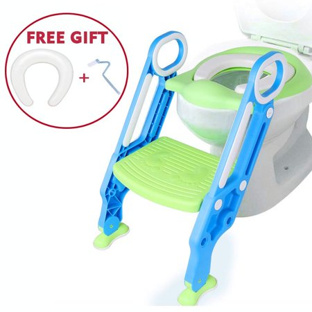Cool Potty Toilet Training Seat With Step Stool Ladder Baby Toddler Kids Adjustable Potty Toilet Trainer Seat Chair For Boys Girls Toilet Training With Creativecarmelina Interior Chair Design Creativecarmelinacom