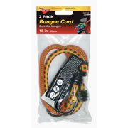 """Keeper 06018 2 Pack 18"""" Bungee Stretch Cords"""