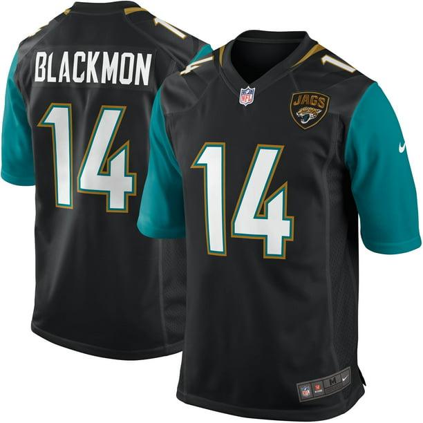 Justin Blackmon Jacksonville Jaguars Nike Youth Team Color Game Jersey - Black