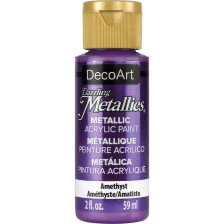 Dazzling Metallics Acrylic Paint 2oz-Amethyst