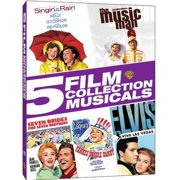 5 Film Collection: Musicals Singin' In The Rain   The Music Man   Seven Brides For Seven Brothers   Yankee Doodle Dandy ... by