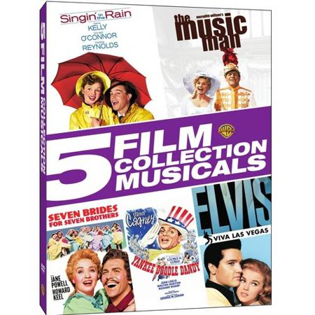 5 Film Collection: Musicals (DVD)