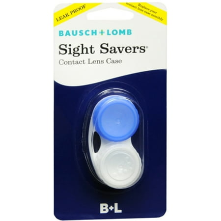 Bausch & Lomb Bausch & Lomb Sight Savers Contact Lens Case, 1 ea - Theatrical Contact Lenses