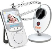 Best 2 Camera Video Monitors - Wireless Video Baby Monitor (Larger 2″ Monitor) Digital Review