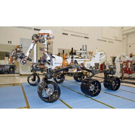 Poster Set Science Lab - Mars Science Laboratory rover Curiosity Poster Print