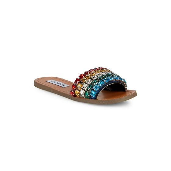 a63a7d64642a Steve Madden - Womens Steve Madden Serenade Slip On Slide Sandals ...