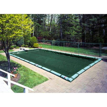 Pool Mate 10 Year Heavy Duty Green In Ground Winter Cover 20 X 40 Ft