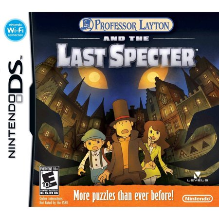 Professor Layton and the Last Spector (DS) (Professor Layton And The Last Specter Rom)