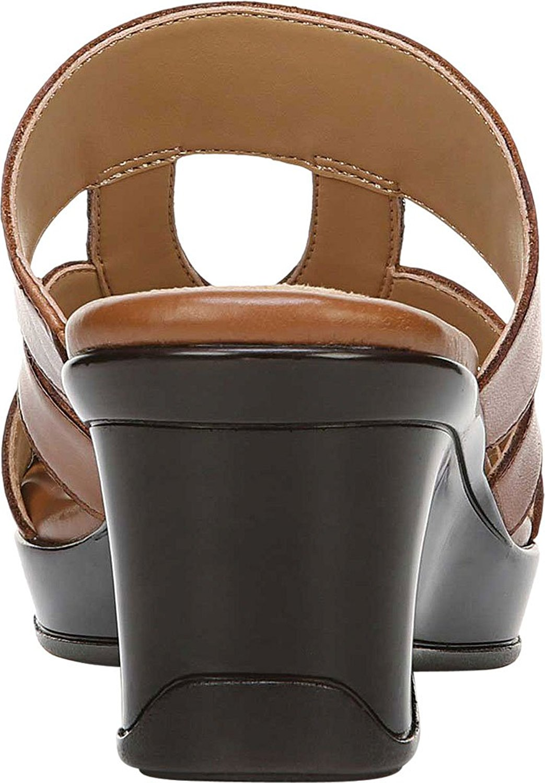 de498e0cb8 Naturalizer - Womens Vanity Leather Open Toe Mules - Walmart.com