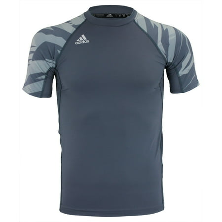 Adidas Men's Team Techfit Short Sleeve Shirt, Color Options Adidas Climalite Short Sleeve Tee