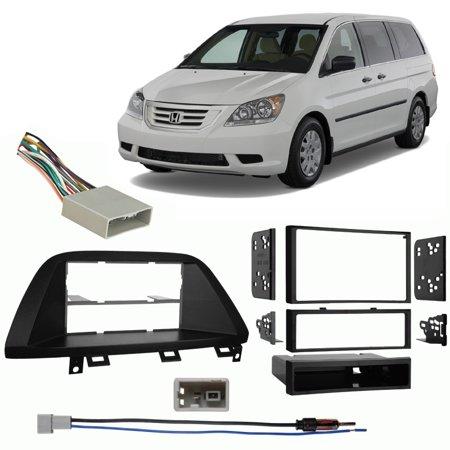 - Fits Honda Odyssey 2008-2010 Multi DIN Stereo Harness Radio Install Dash Kit