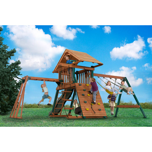 Backyard Play Systems Explorer S Station Swing Set Walmart Com