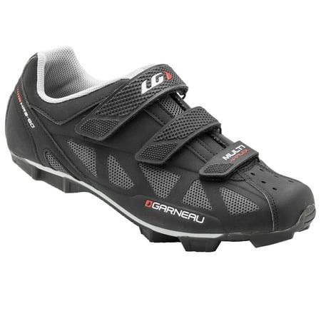 Louis Garneau - Men's Multi Air Flex Bike Shoes for Commuting, MTB and Indoor Cycling, SPD Cleats Compatible with MTB Pedals Black 38 M (Louis Garneau Ergo Air Pro 2 Road Shoes)