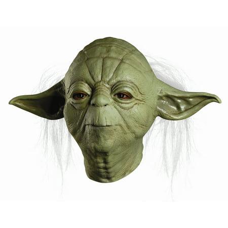 Yoda Costume Mask Newest Edition R68465/24 - Yoda Masks