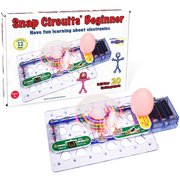 Snap Circuits Beginner Electronics Exploration Kit | Over 20 STEM Projects | 4-Color Project Manual | 12 Snap Modules | Unlimited Fun