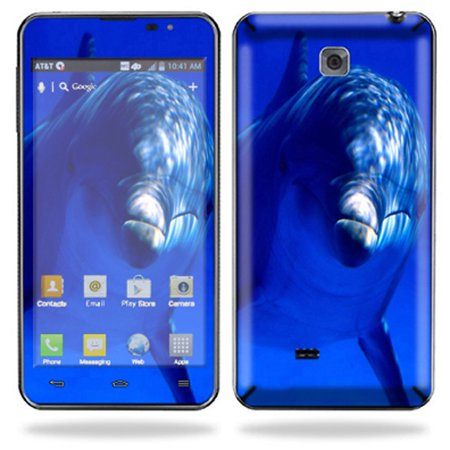 Mightyskins Protective Skin Decal Cover for LG Escape Cell Phone AT&T Sticker Skin Dolphin