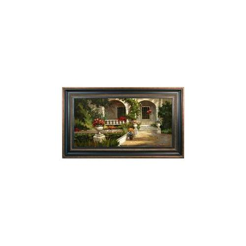 Artmasters Collection PA89859B-670845 Sunlit Entry II Framed Oil Painting