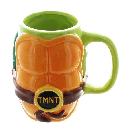 Teenage Mutant Ninja Turtles 12oz Molded Shell Mug - Teenage Mutant Ninja Turtles Cups