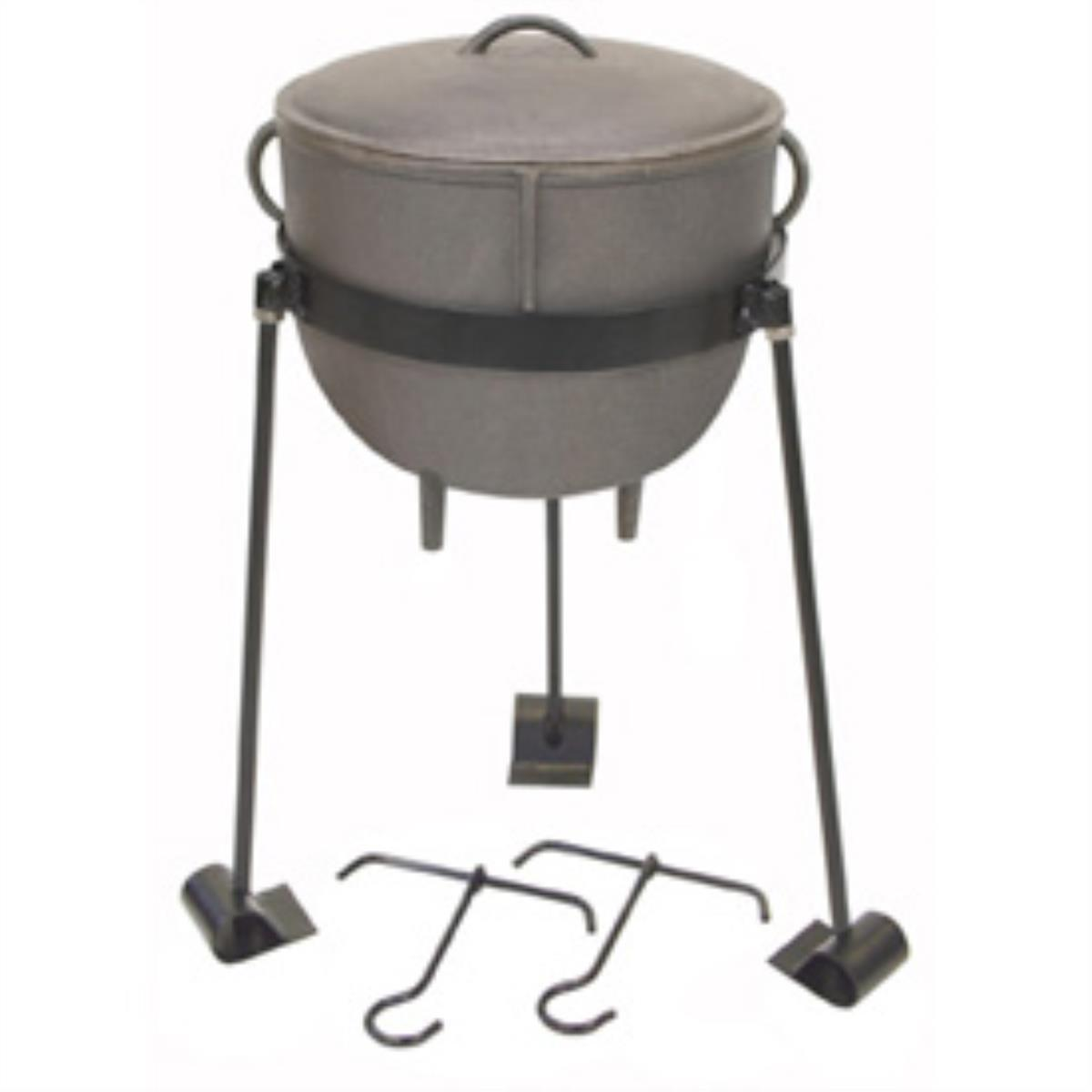Bayou Classics Cast Iron Stew Pot - 4 gal.