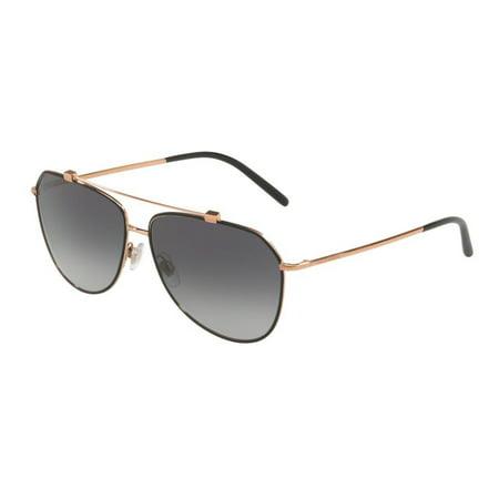 Sunglasses Dolce & Gabbana DG 2190 12968G MATTE BLACK/PINK (Dolce Gabbana Prescription Glasses)