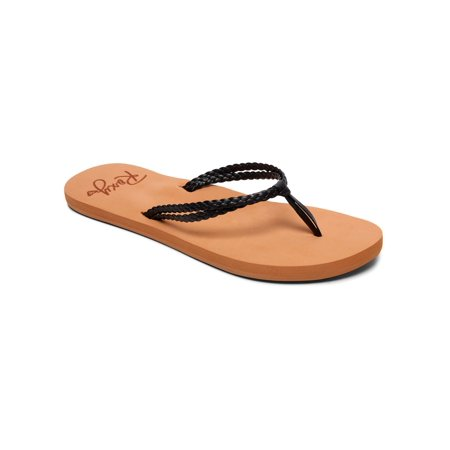 Roxy Womens Costas Casual Beach Sandals - Brown/Black