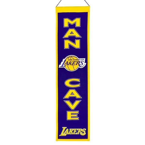NBA Man Cave Banner, Los Angeles Lakers