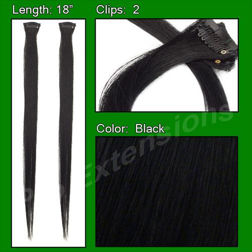 Brybelly (2 PCS) Black Highlight Streak Pack